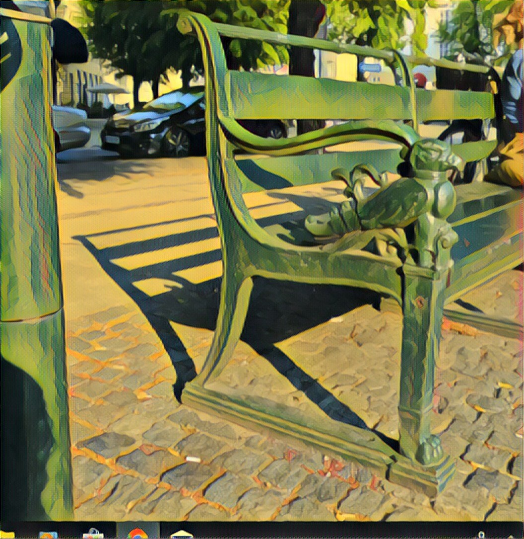 Ten Cast Iron Wood Falcon Embellished Benches Designed By Architect Alfred Kock Clausen Were Positioned Symmetrically On Saint Thomas Square Frederiksberg In 1927 By Augusta Khalil Ibrahim Medium