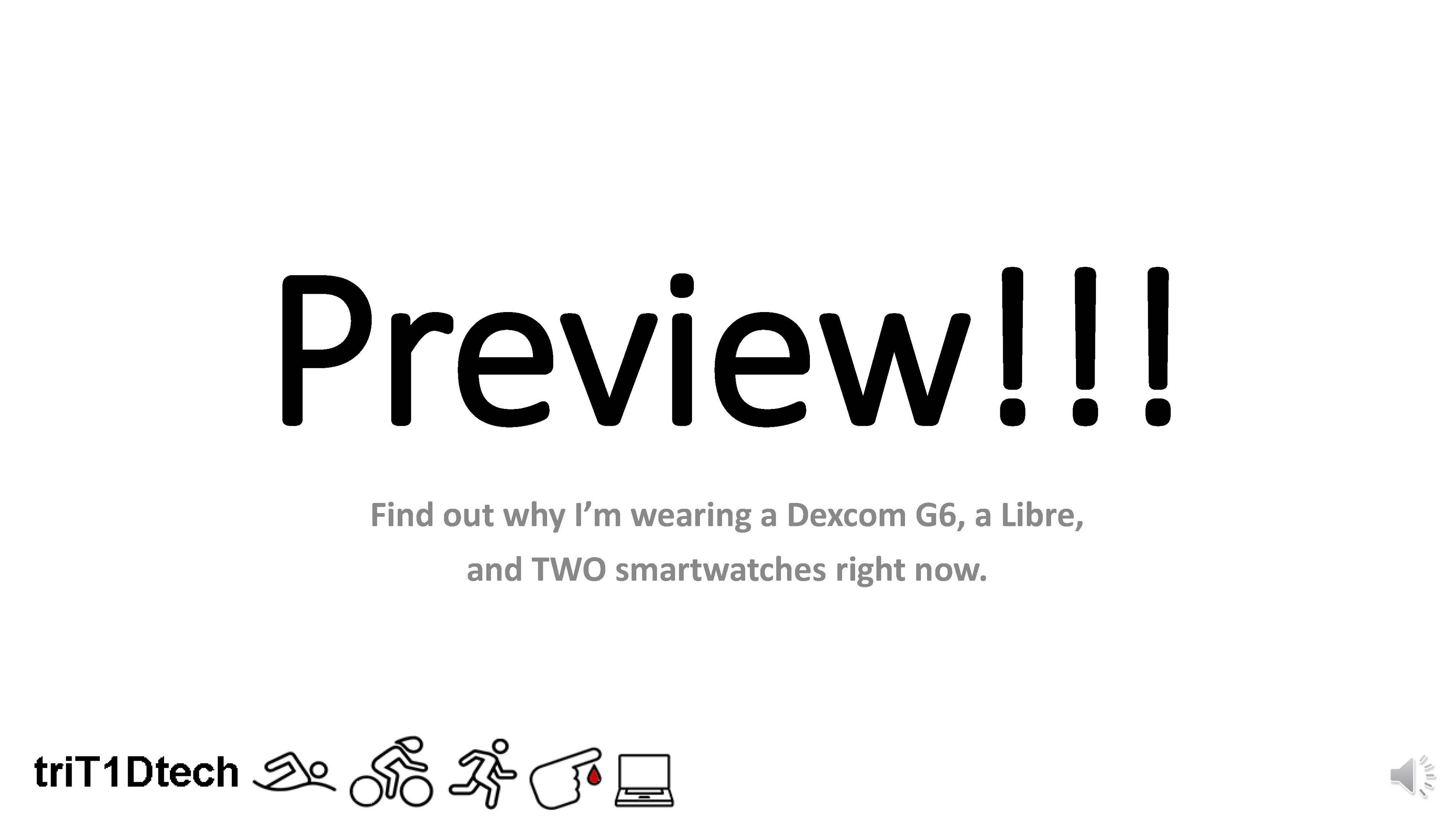 Video and Slideshow: Swimming with a Glucose Monitor (Dexcom