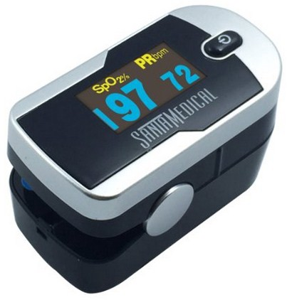Generation 2 Fingertip Pulse Oximeter- Easy to Use, Big Screen