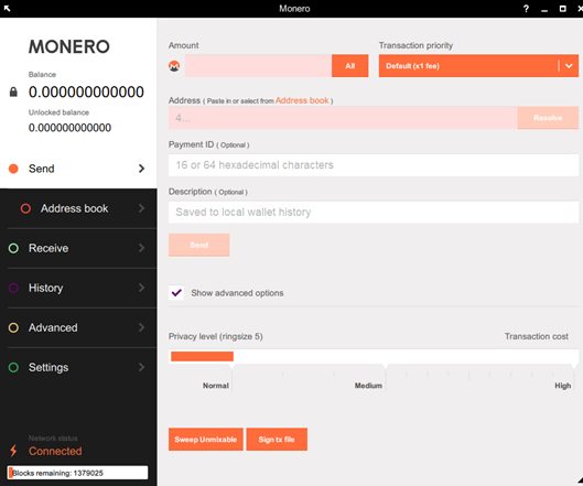 Guide to creating a Monero GUI wallet in Tails - Ben Sharp