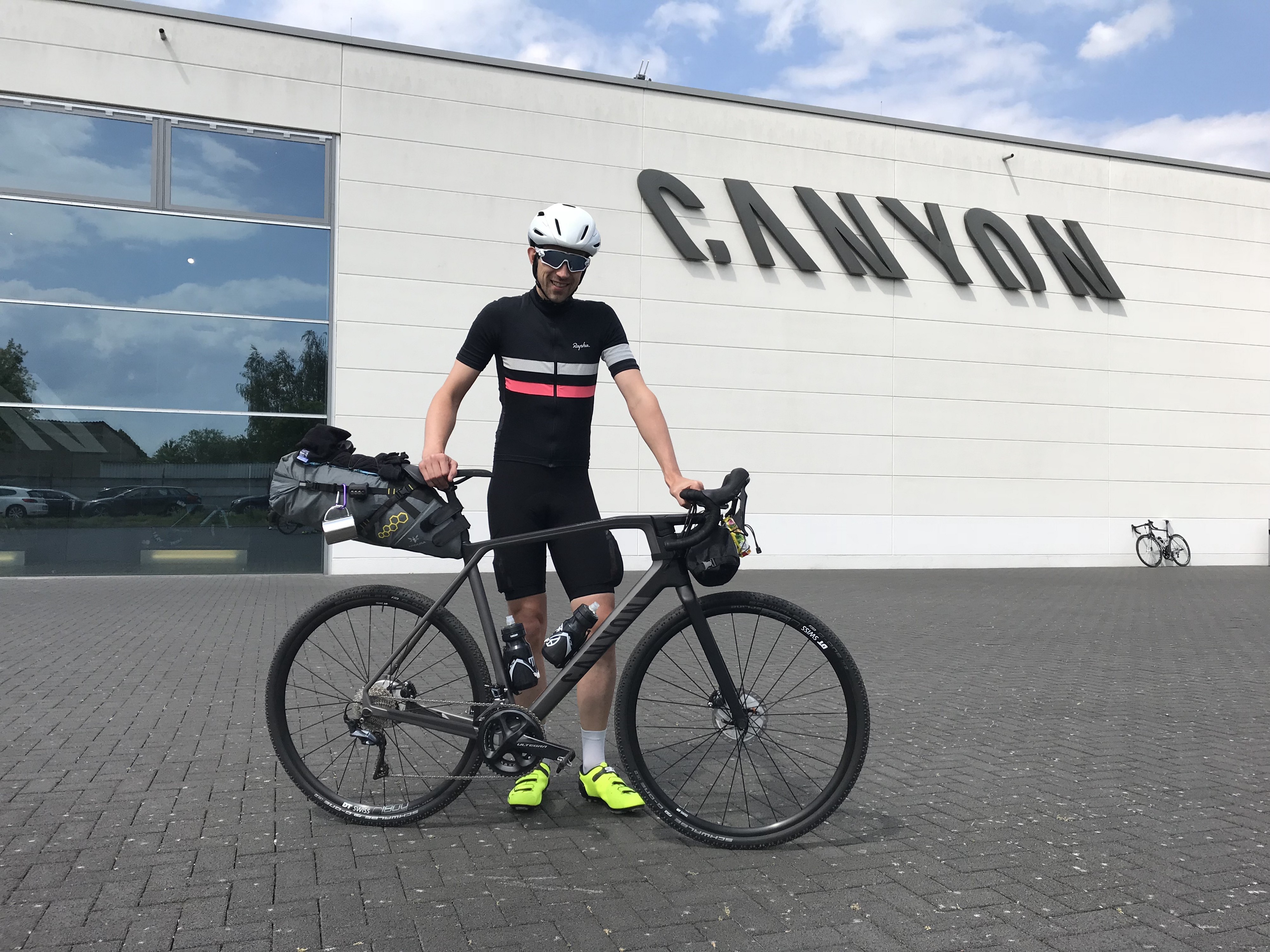 Canyon to Rapha — a bikepacking tramp across Germany: Part 1