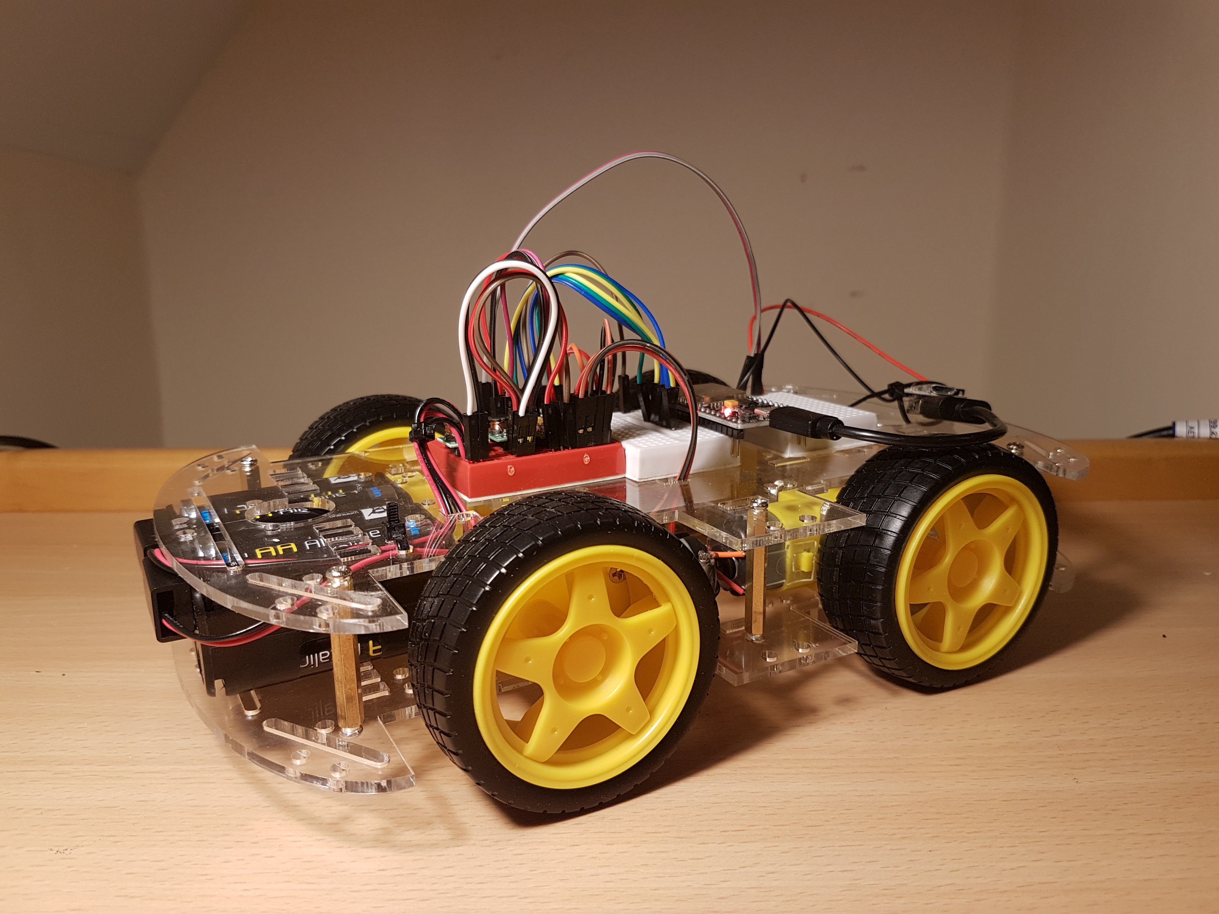 Building a browser-programmable robot in two days - Hackers