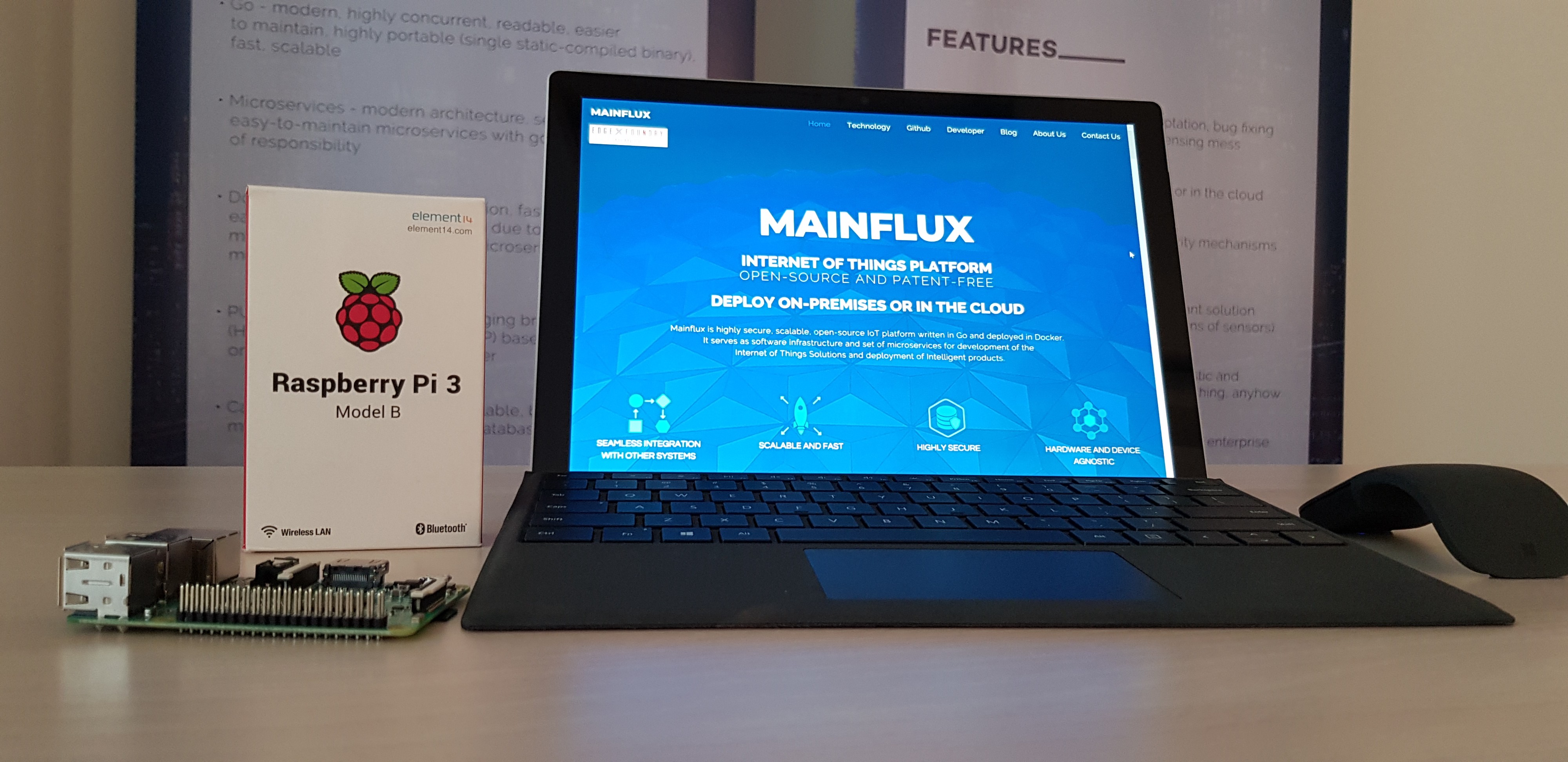 How to connect Raspberry Pi to Mainflux - Mainflux IoT