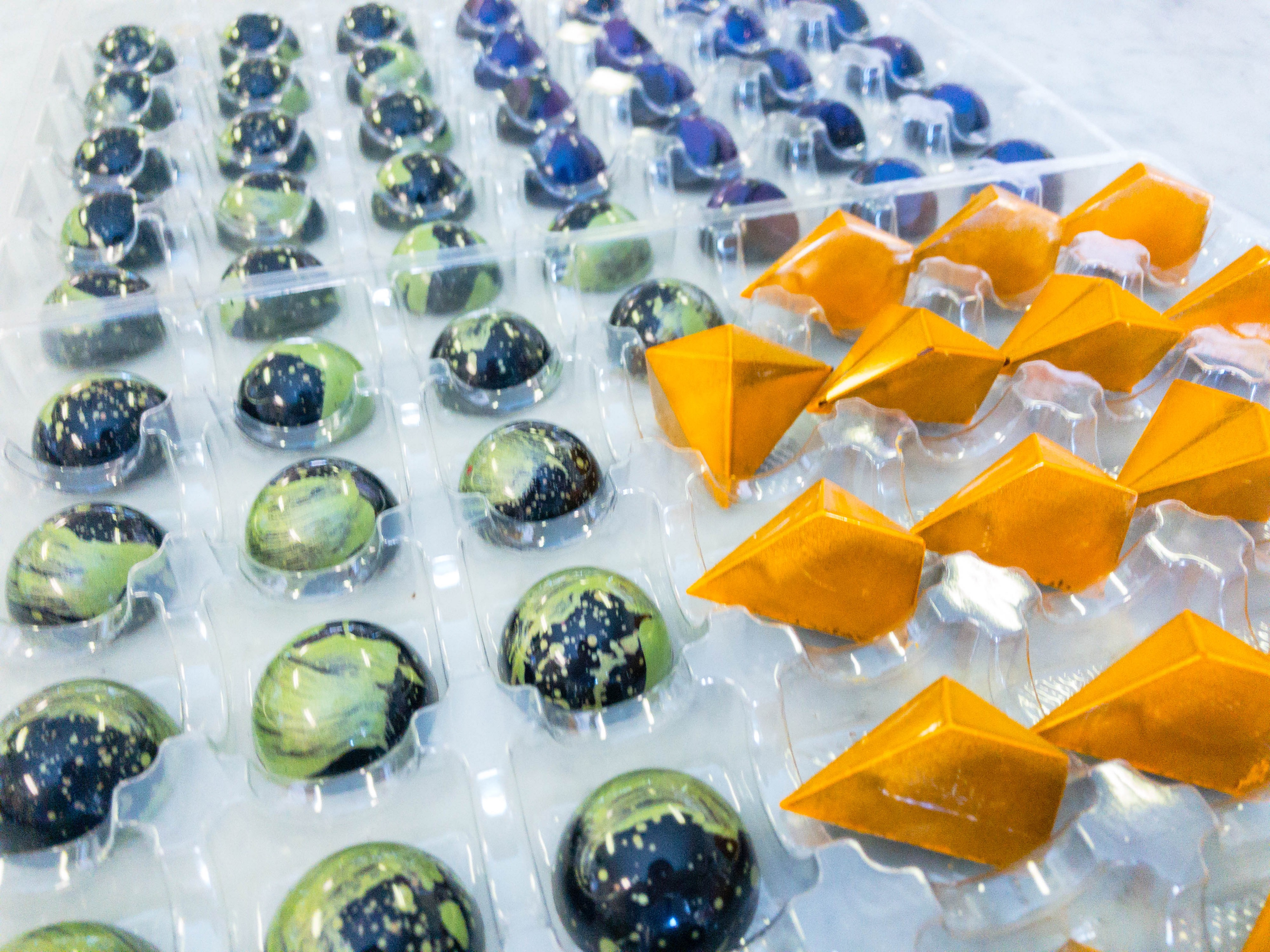 Pastry Chef School: Painting Truffles, Making Lollipops