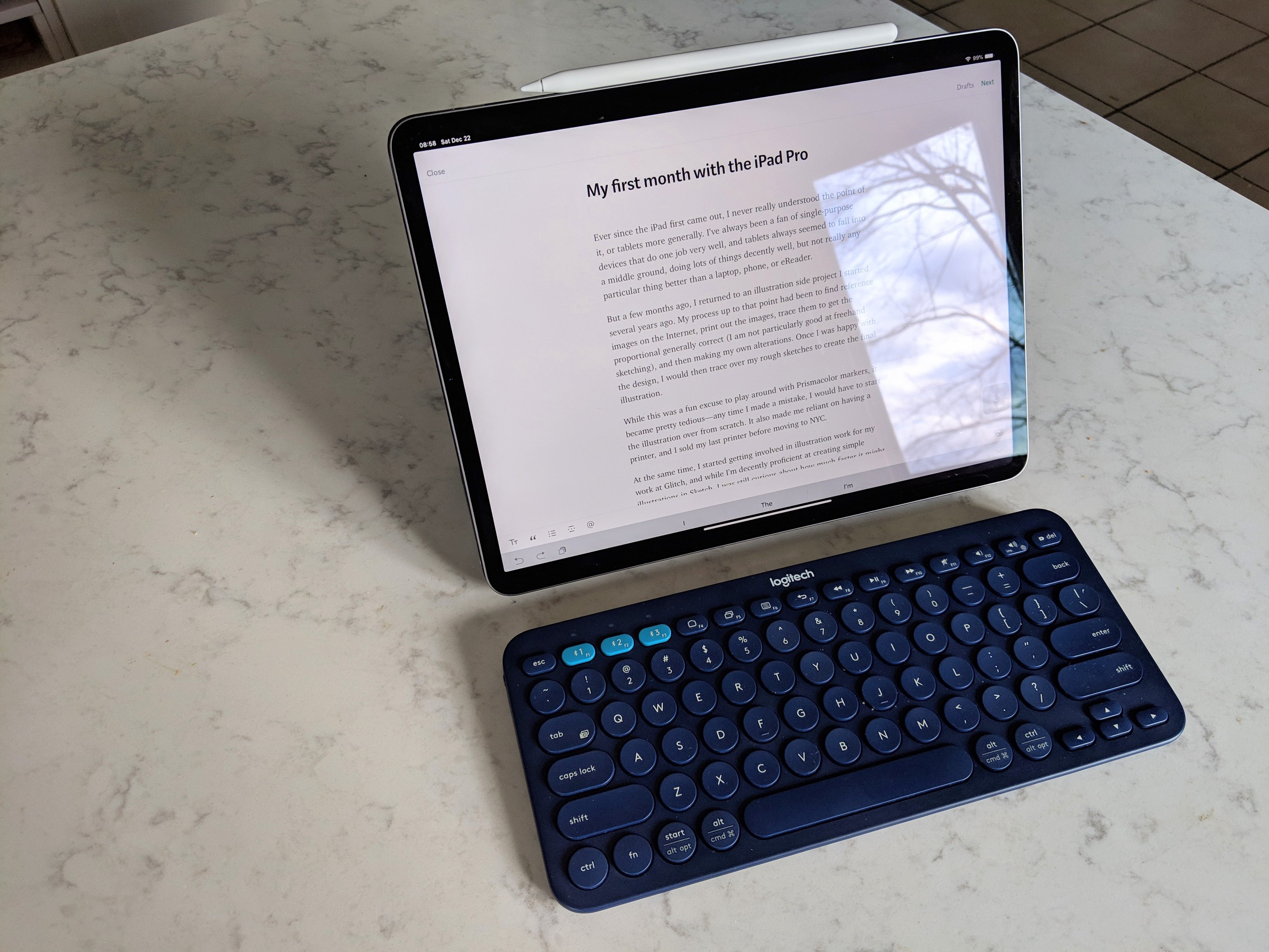 My first month with the iPad Pro - Tiffany Tseng - Medium