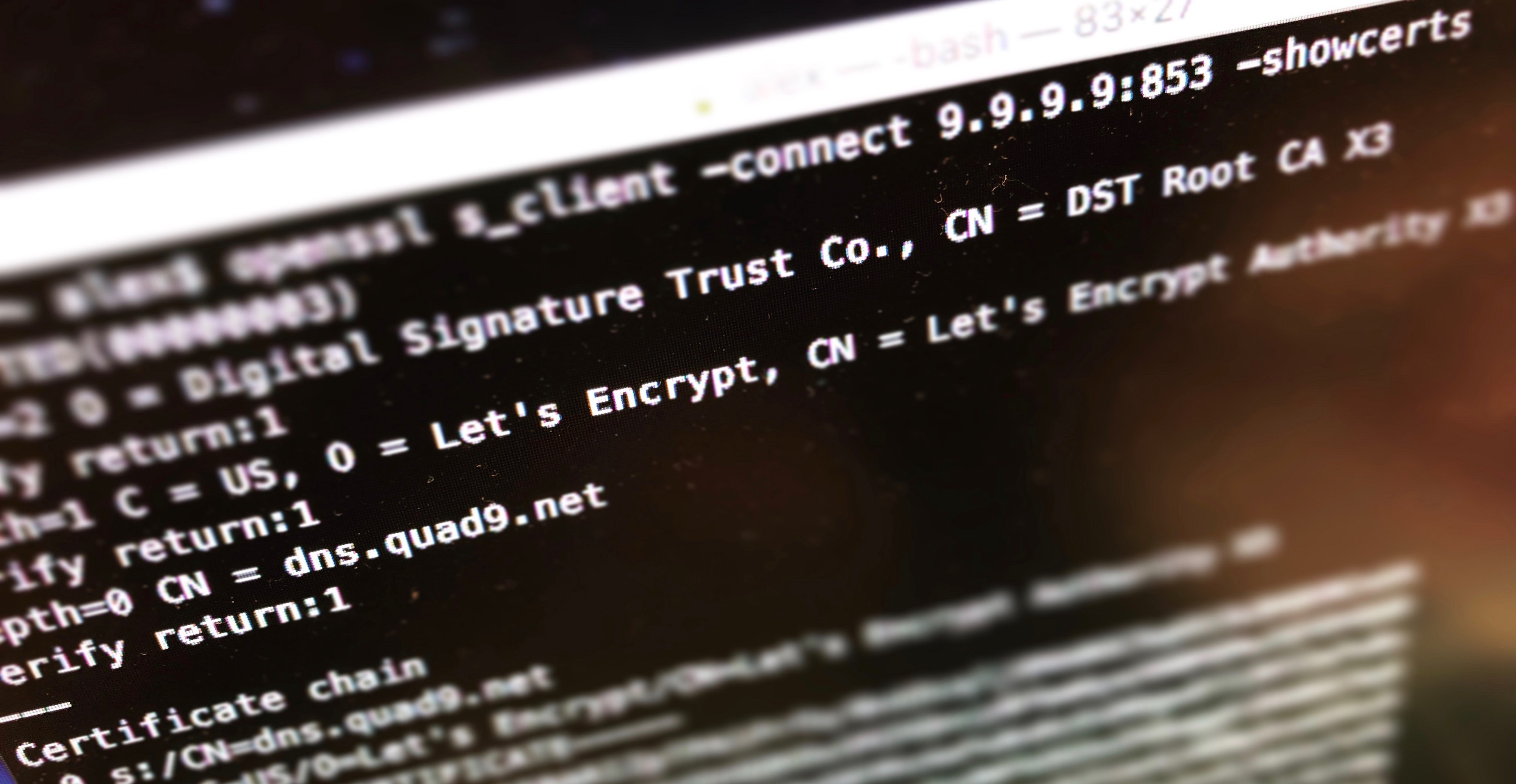 Privacy: Using DNS-over-TLS with the Quad9 DNS Service