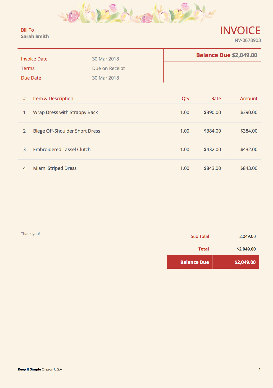 Why Designing A Drop Dead Gorgeous Invoice Can Take Your Business To The Next Level By Cube Yogi Zoho Solutions Provider Medium