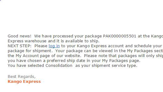 How to Shop in the U S  or U K  with Kango Express