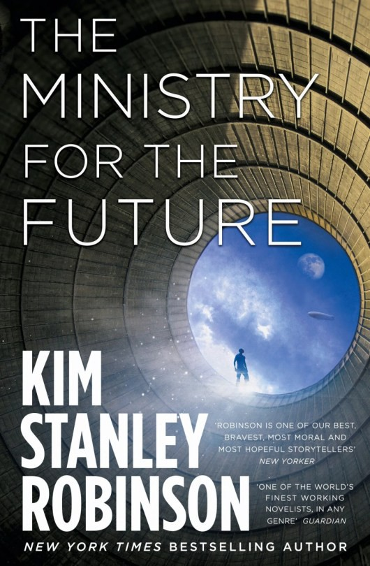 The cover of Kim Stanley Robinson's 'The Ministry for the Future.'