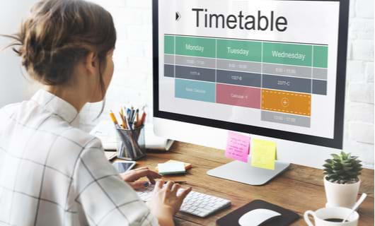 students and teachers timetable