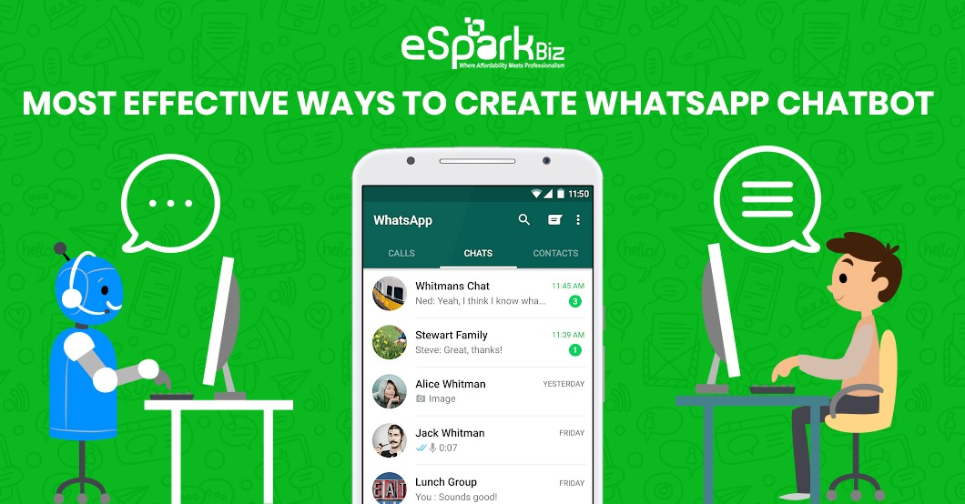 Let S Explore The Most Effective Ways To Create Whatsapp Chatbot By Esparkbiz Chatbots Journal