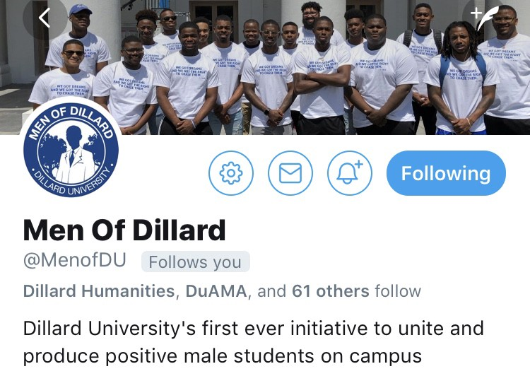 Who To Follow? Top Dillard Twitter Accounts for #DU22 students & parents