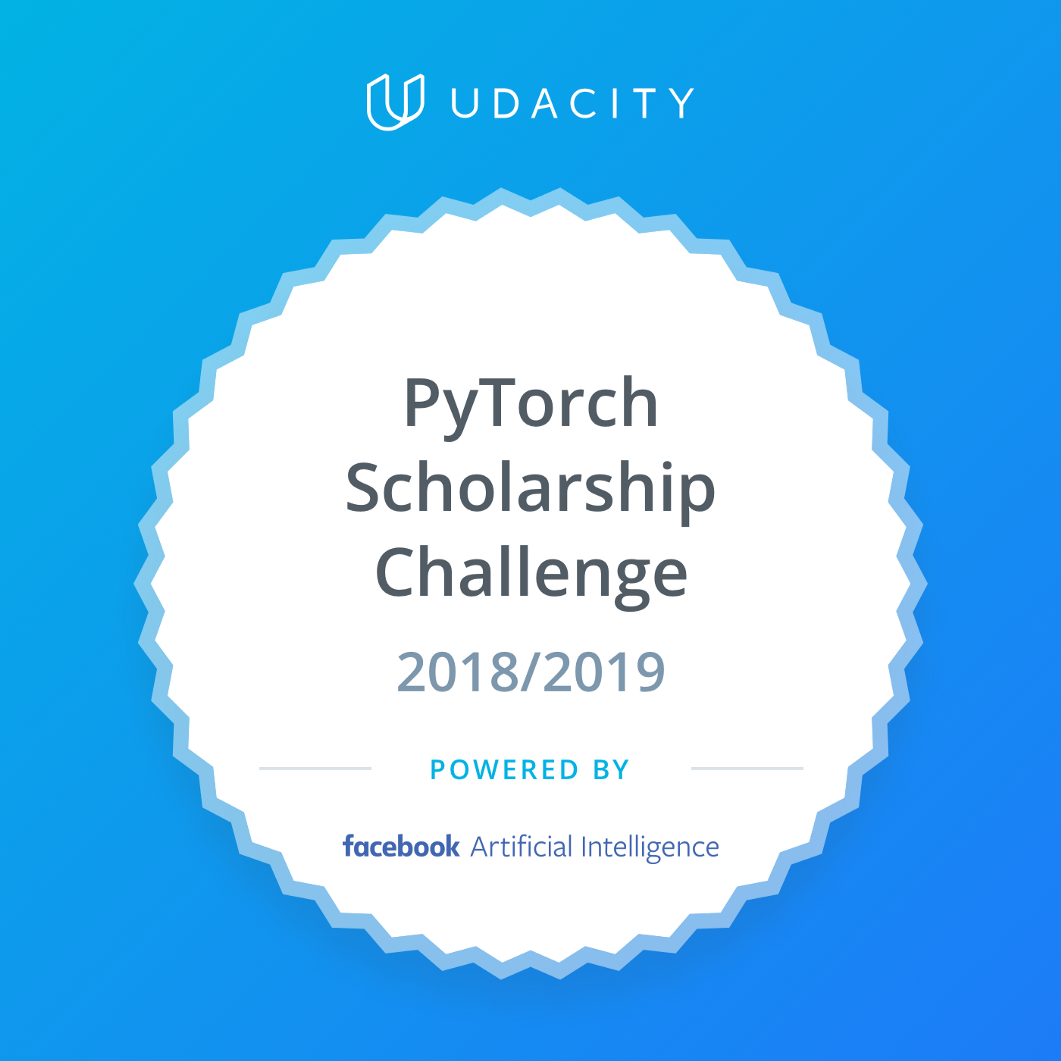 Facebook PyTorch Udacity Scholarship challenge - Data Driven