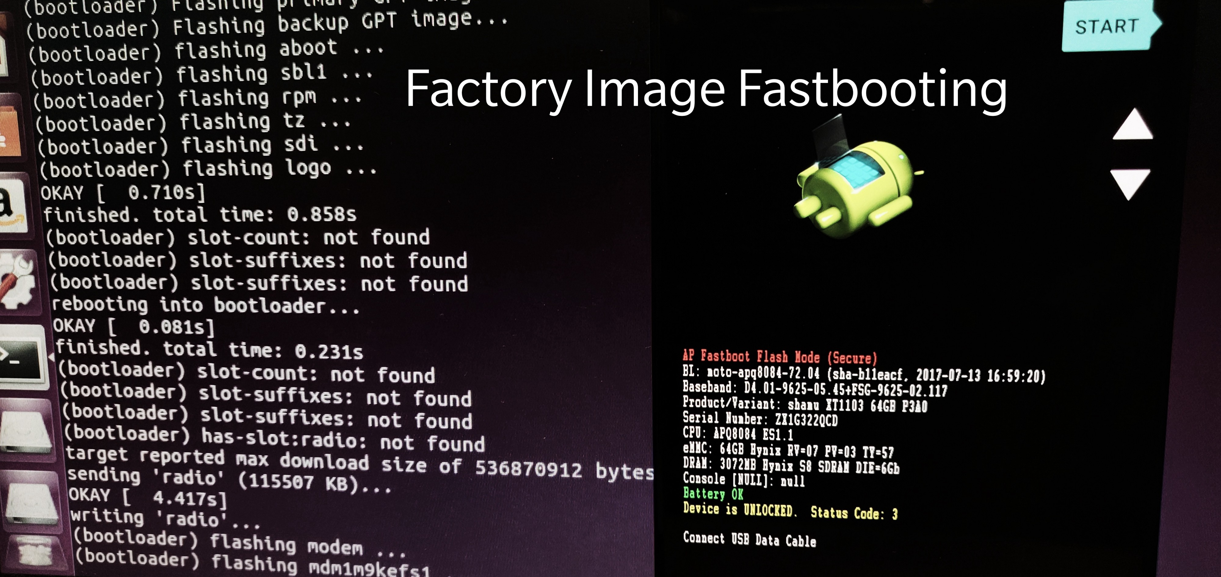 Fastbooting with Android Factory Image - Soham Bhattacharya