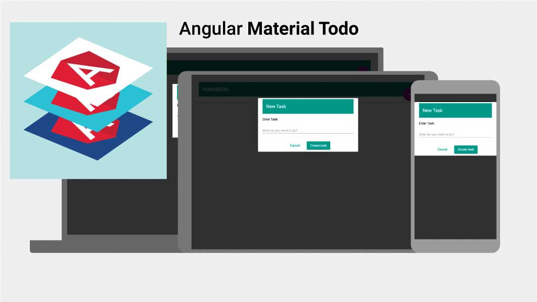 Build A ToDo app with Angular Material and the Angular CLI
