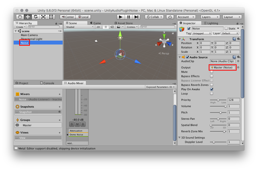 How to Use Unity's Native Audio Plugin SDK on macOS