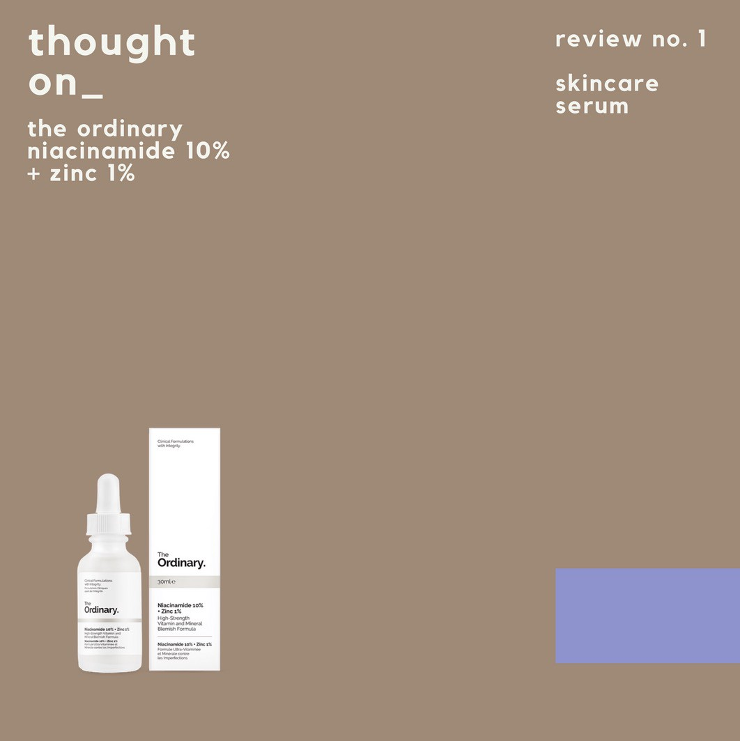 Thought On The Ordinary Niacinamide 10 Zinc 1 By But How To Medium