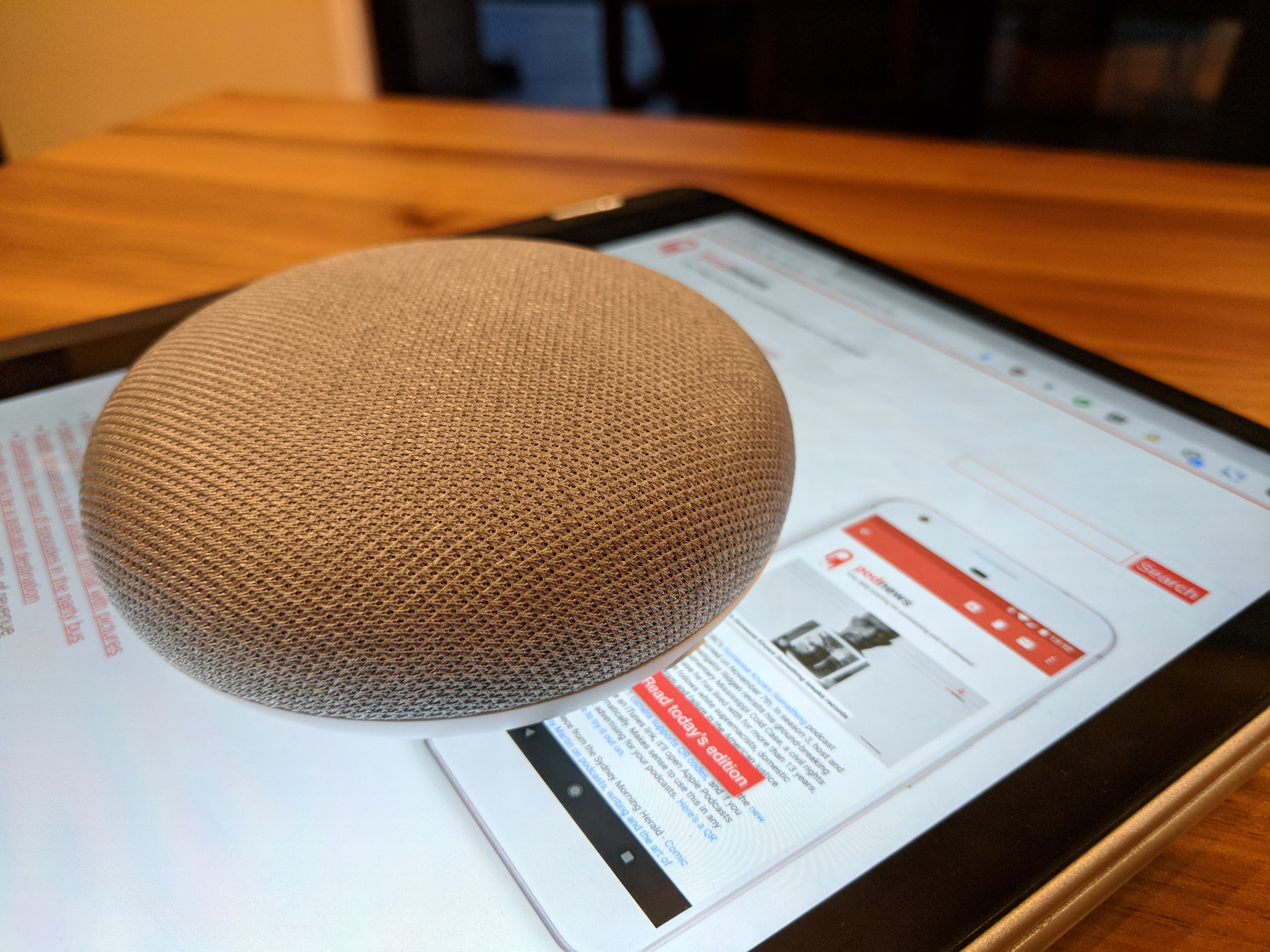 Can a smart speaker replace a kitchen radio? - James
