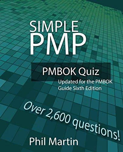 PDF [FREE] DOWNLOAD Simple PMP PMBOK Quiz: Updated for the