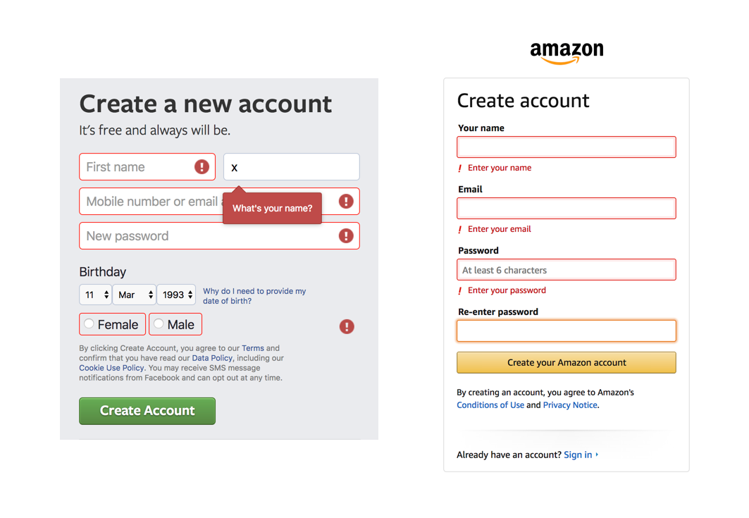 Creating User-friendly forms - Prototypr