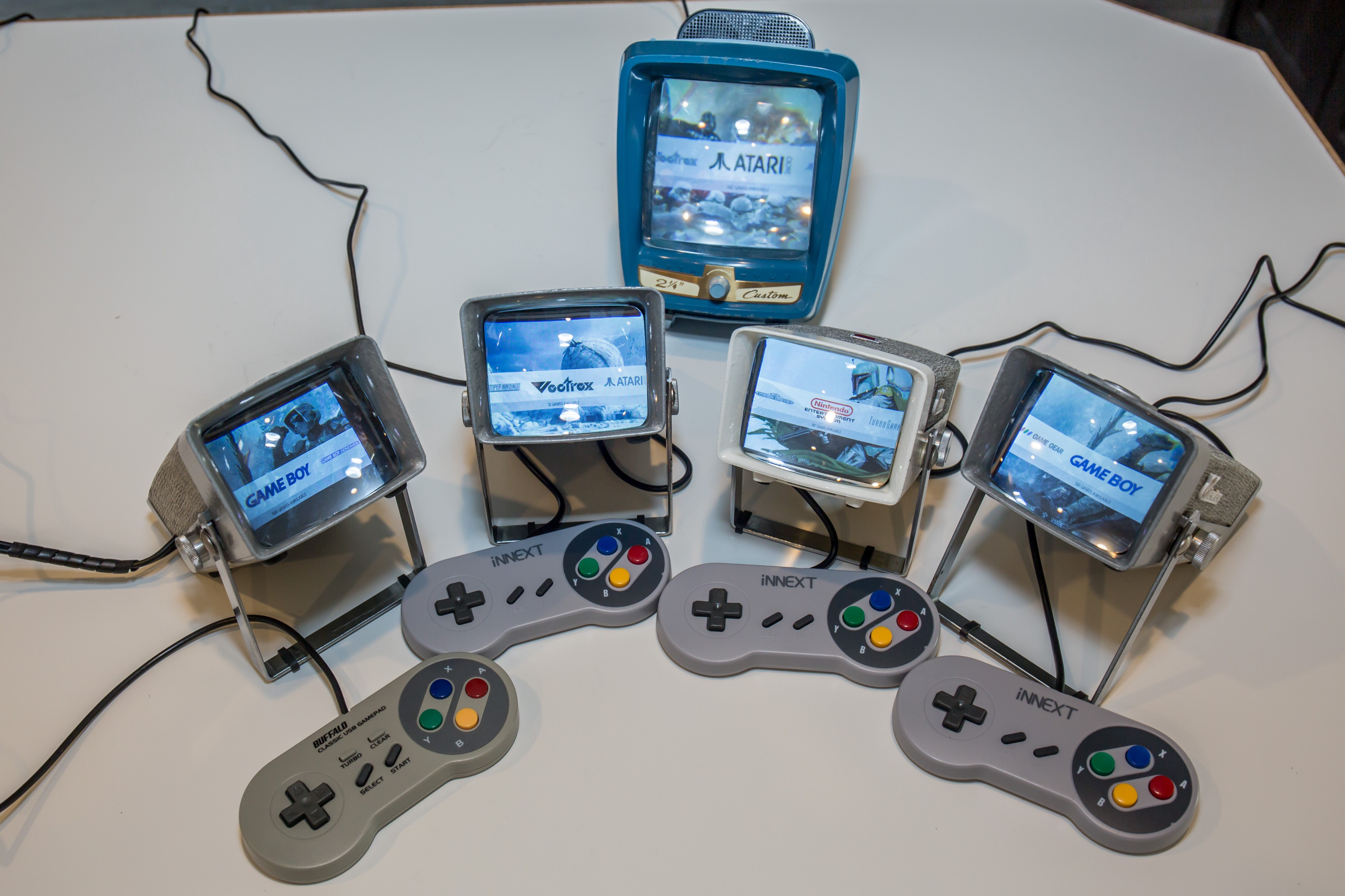 Turn a Vintage Film Viewer Into a RetroPie Console and Display