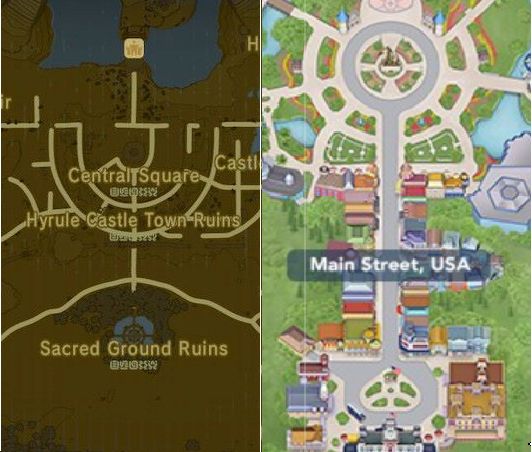 Zelda Breath Of The Wild Is Based On Disney S Magic Kingdom And I Can Prove It By Samuel Cook Dis Sected Medium