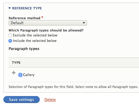 Create an image gallery grid in Drupal 8 with Paragraphs and