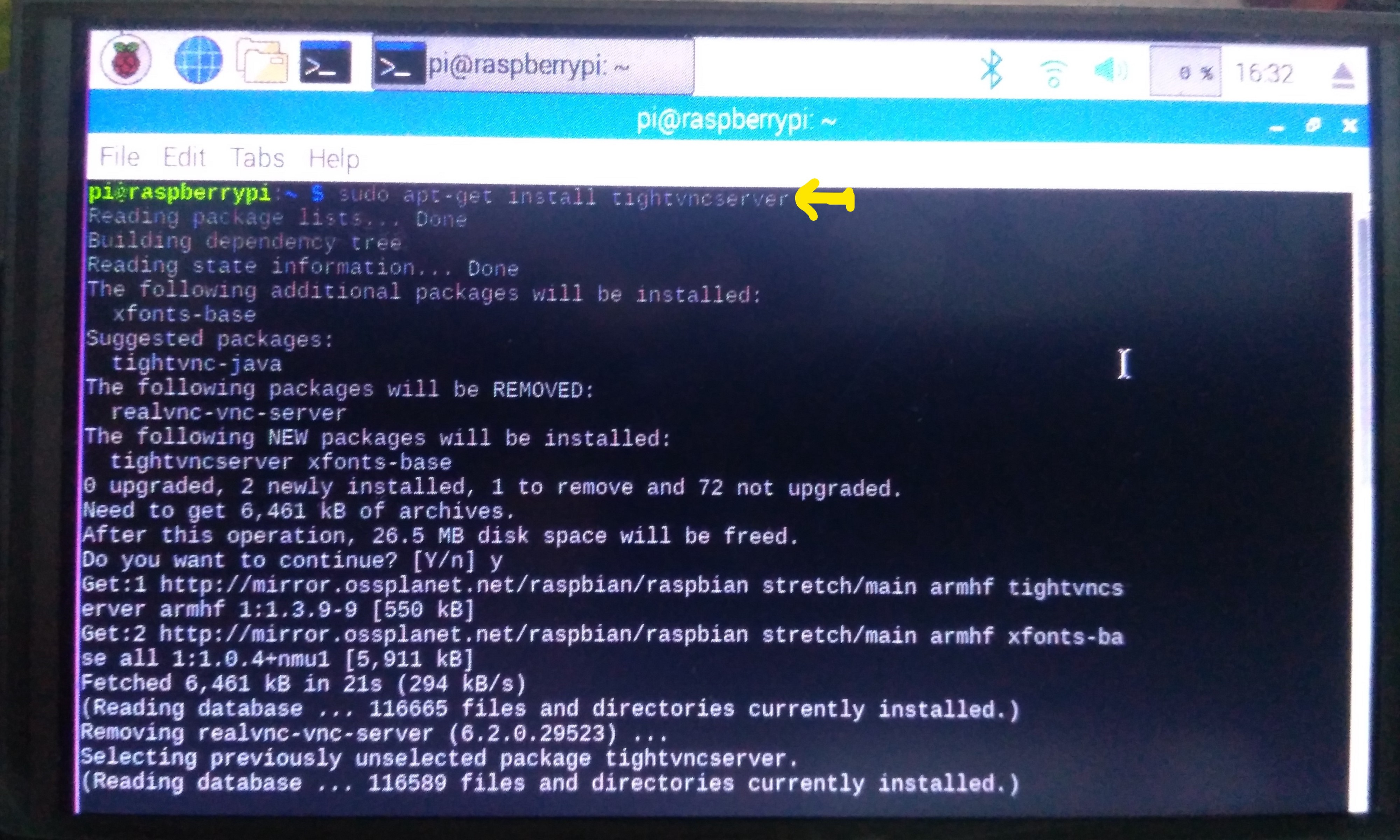 Step by Step guide on running Raspberry pi GUI remotely on