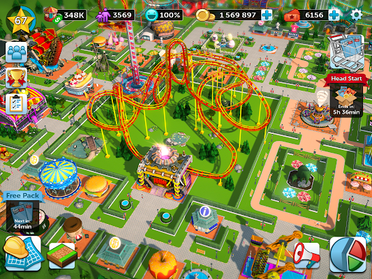RollerCoaster Tycoon Touch v2 9 0 Mod Apk + Obb Data [Unlimited
