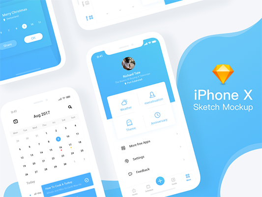 36 Free iPhone Mockups for 2019 [Sketch] - UX Planet