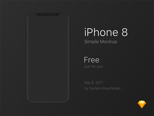 36 Free Iphone Mockups Sketch April 2020 Ux Planet
