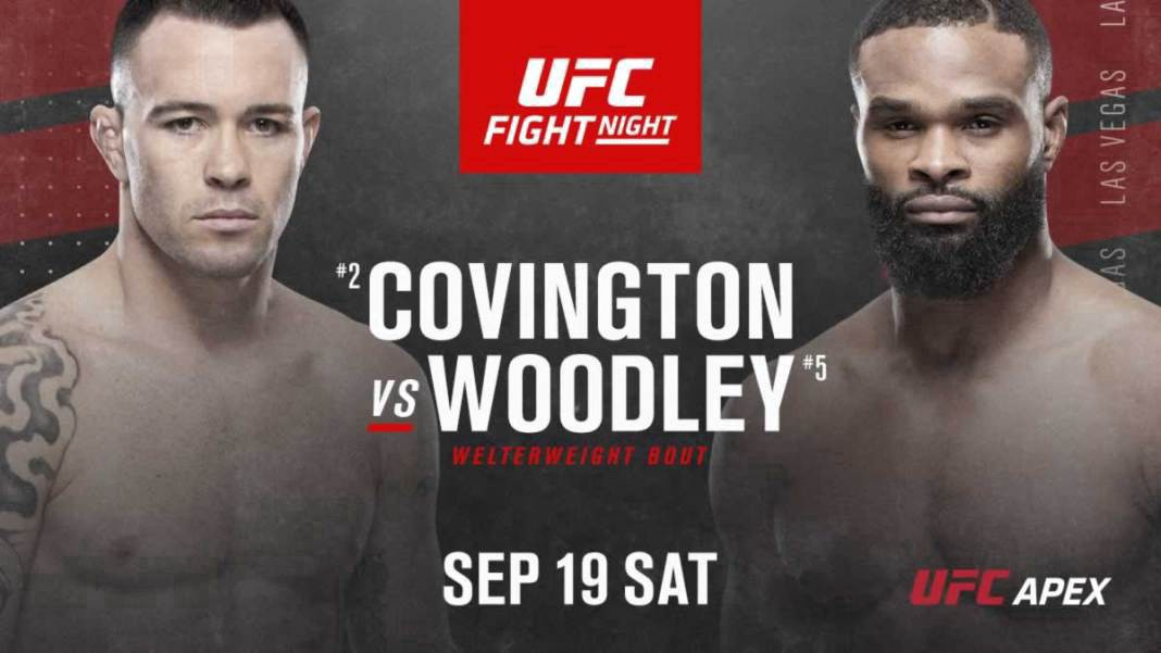 Watch UFC Fight Night 178 Covington vs. Woodley 9/19/20