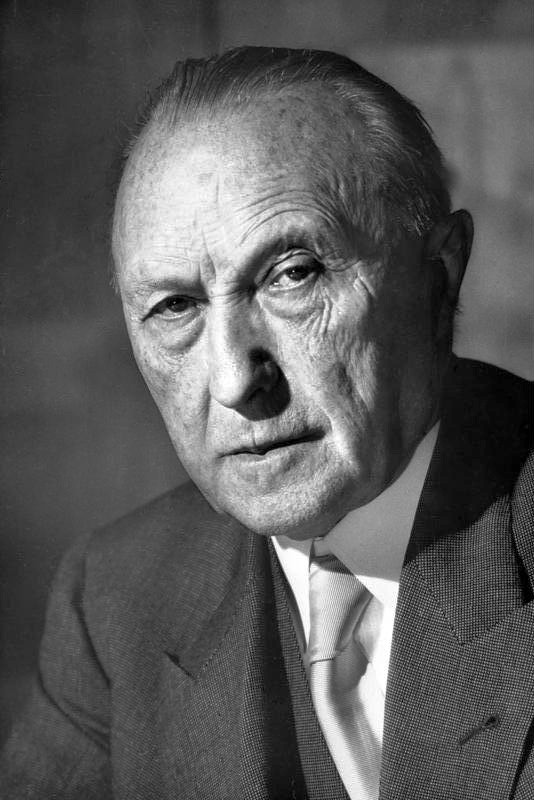 Photo of Konrad Adenauer
