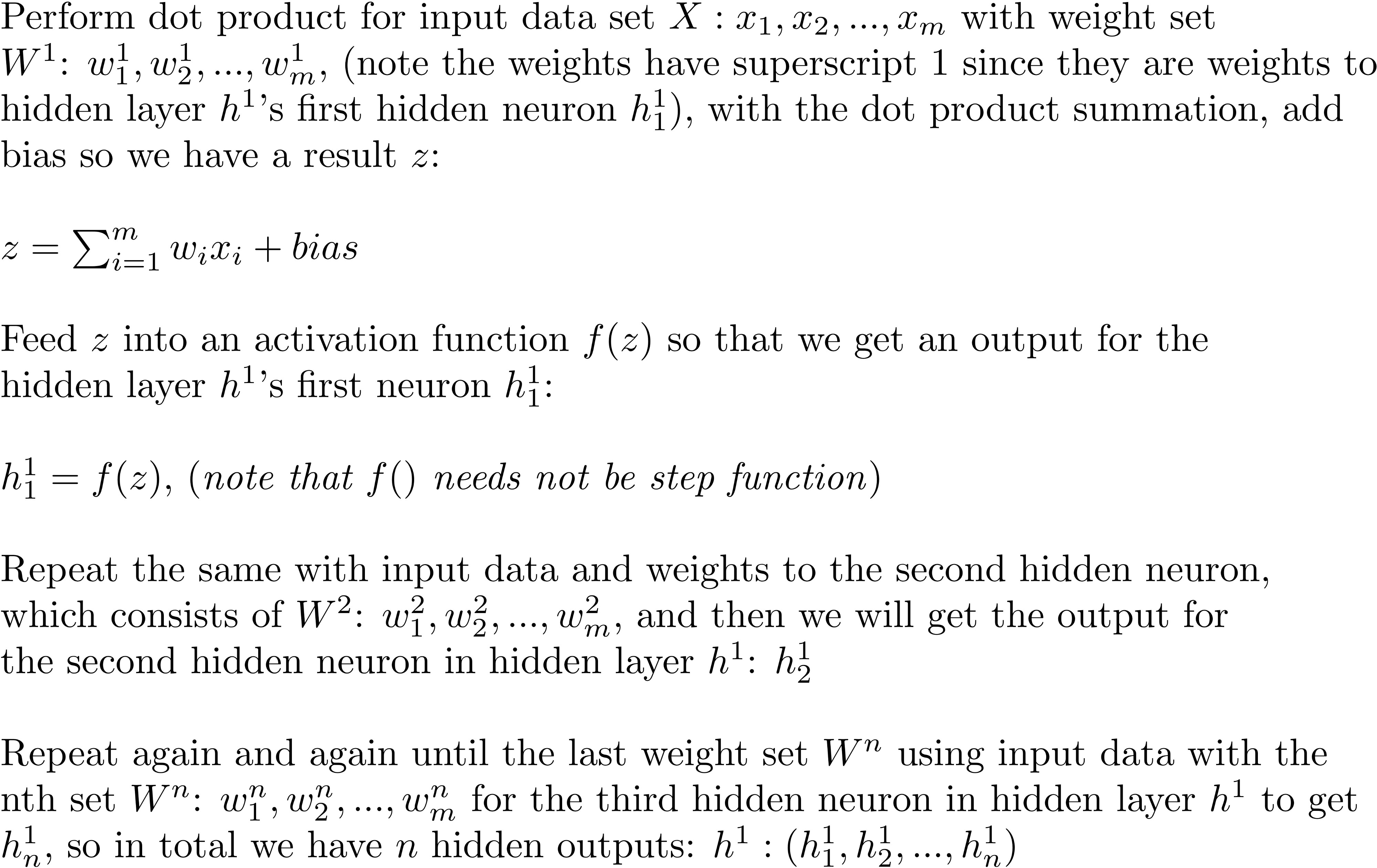 Multi-Layer Neural Networks with Sigmoid Function— Deep
