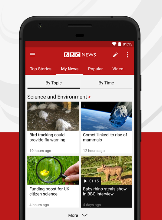 UX case study — BBC NEWS app android - Muzli - Design