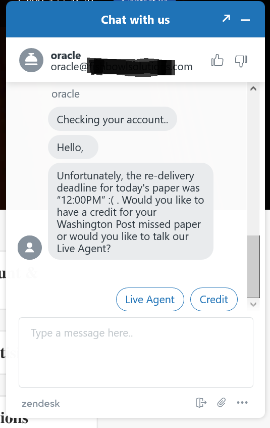 Integrate Oracle Digital Assistant with Zendesk Live Agent