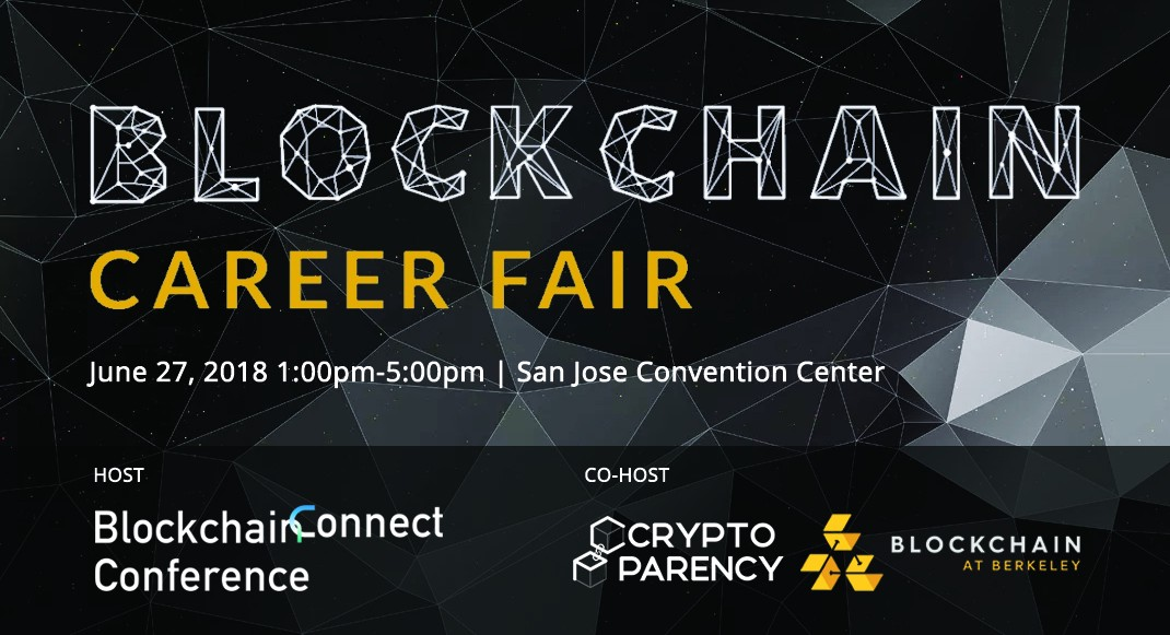 Blockchain Career Fair at Blockchain Connect Conference