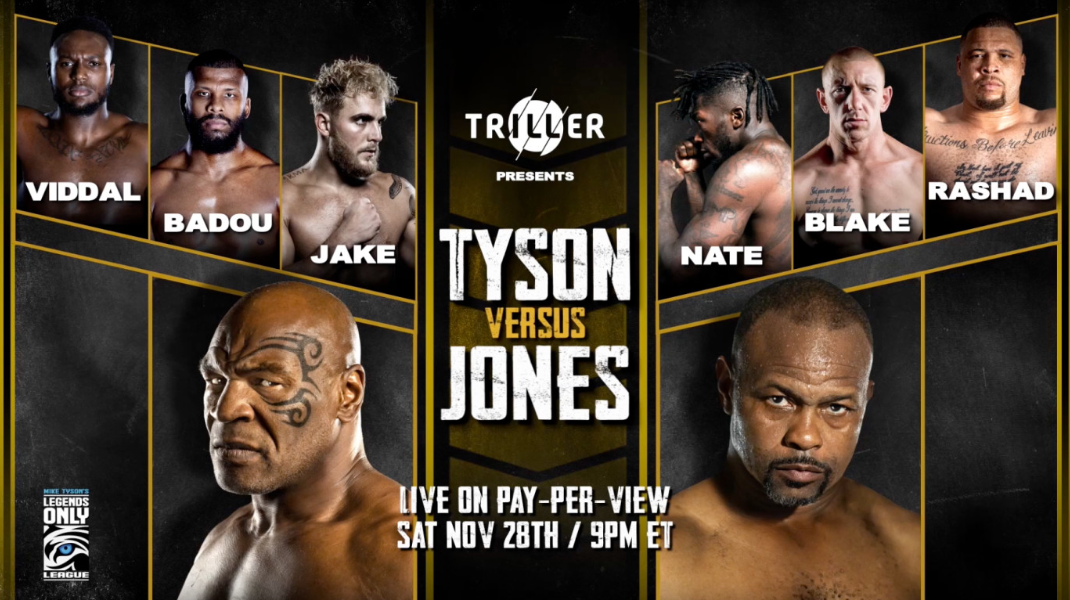 STREAM — Mike Tyson vs Roy Jones Jr. | WATCH LIVE [HD1080P] | LIVE! Mike Tyson vs Roy Jones Jr. 2020 Online