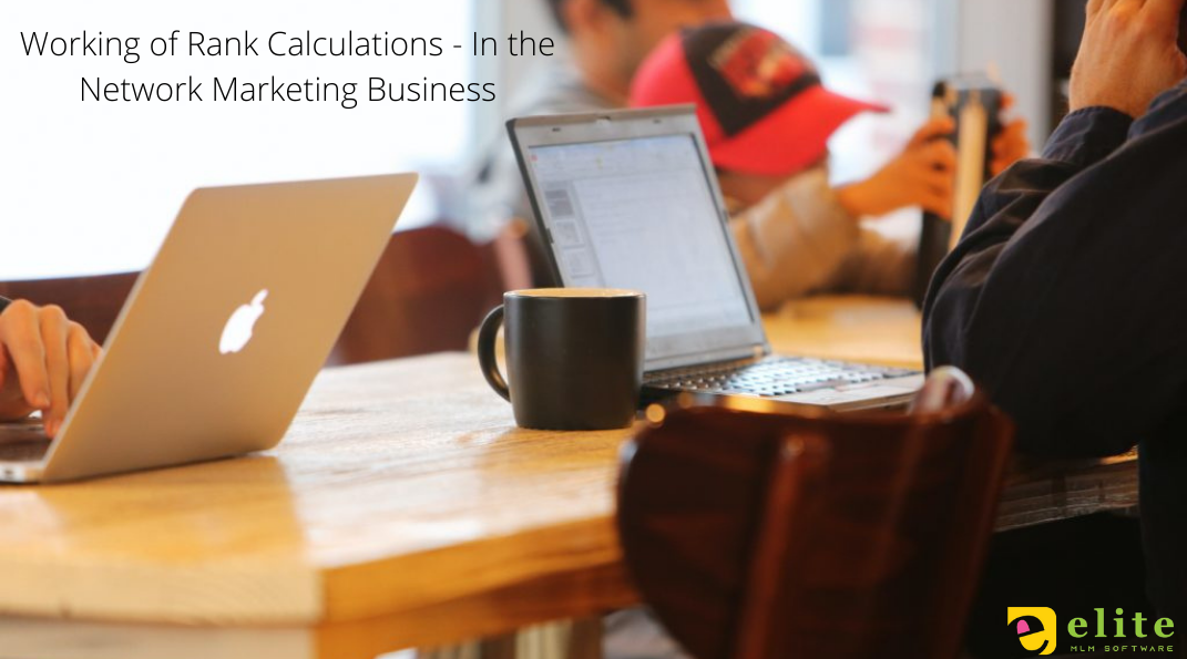 Working of Rank Calculations — In the Network Marketing Business
