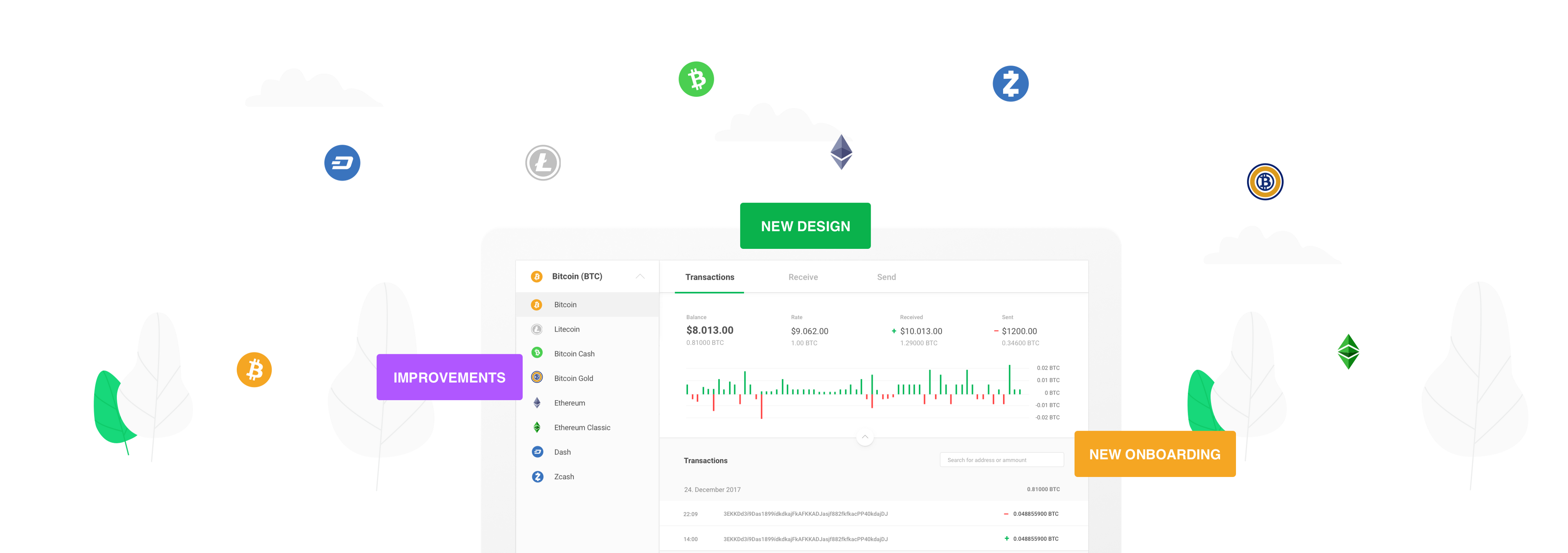 Announcing a redesigned interface for your TREZOR Wallet