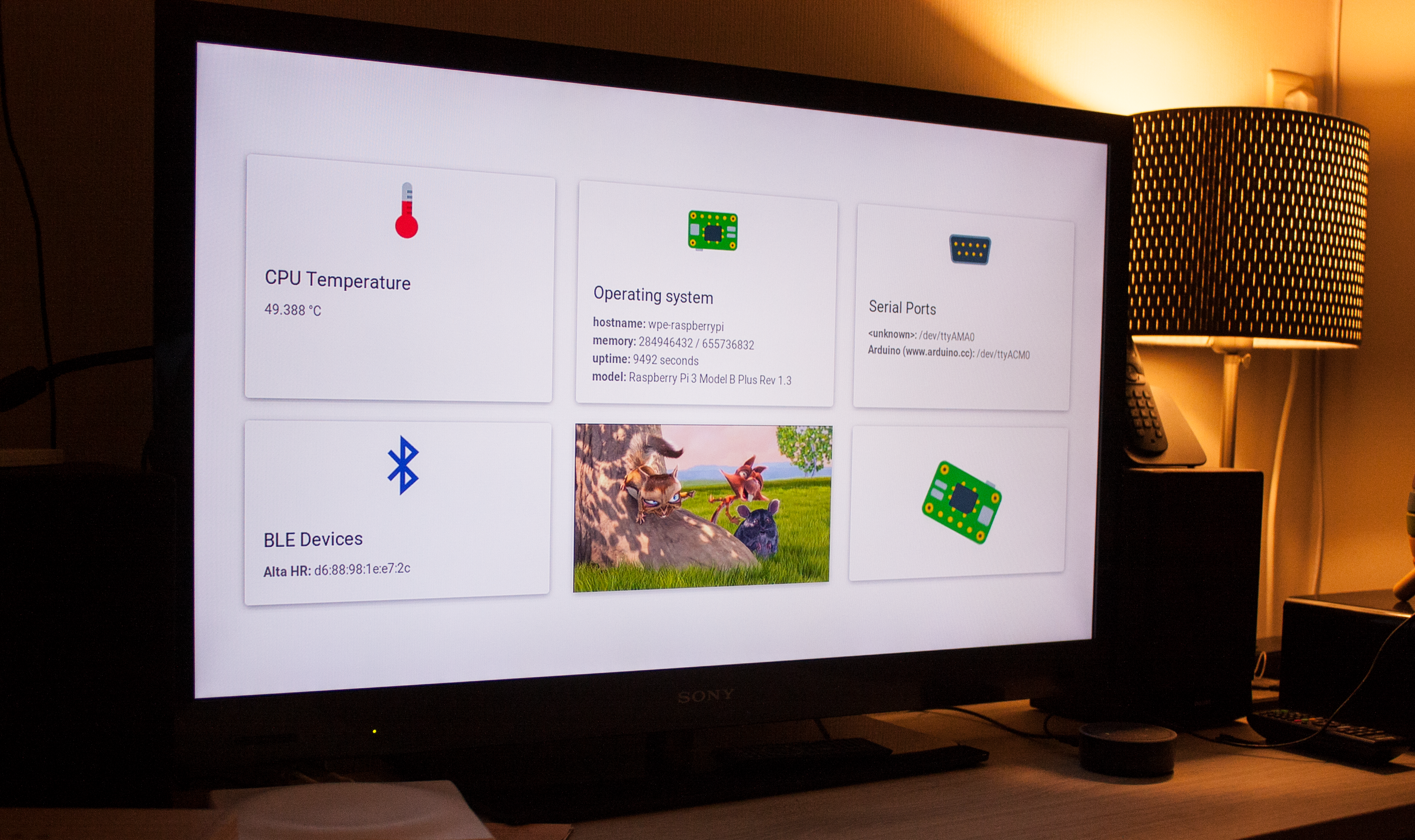WPE: Building full screen web applications for the Raspberry Pi