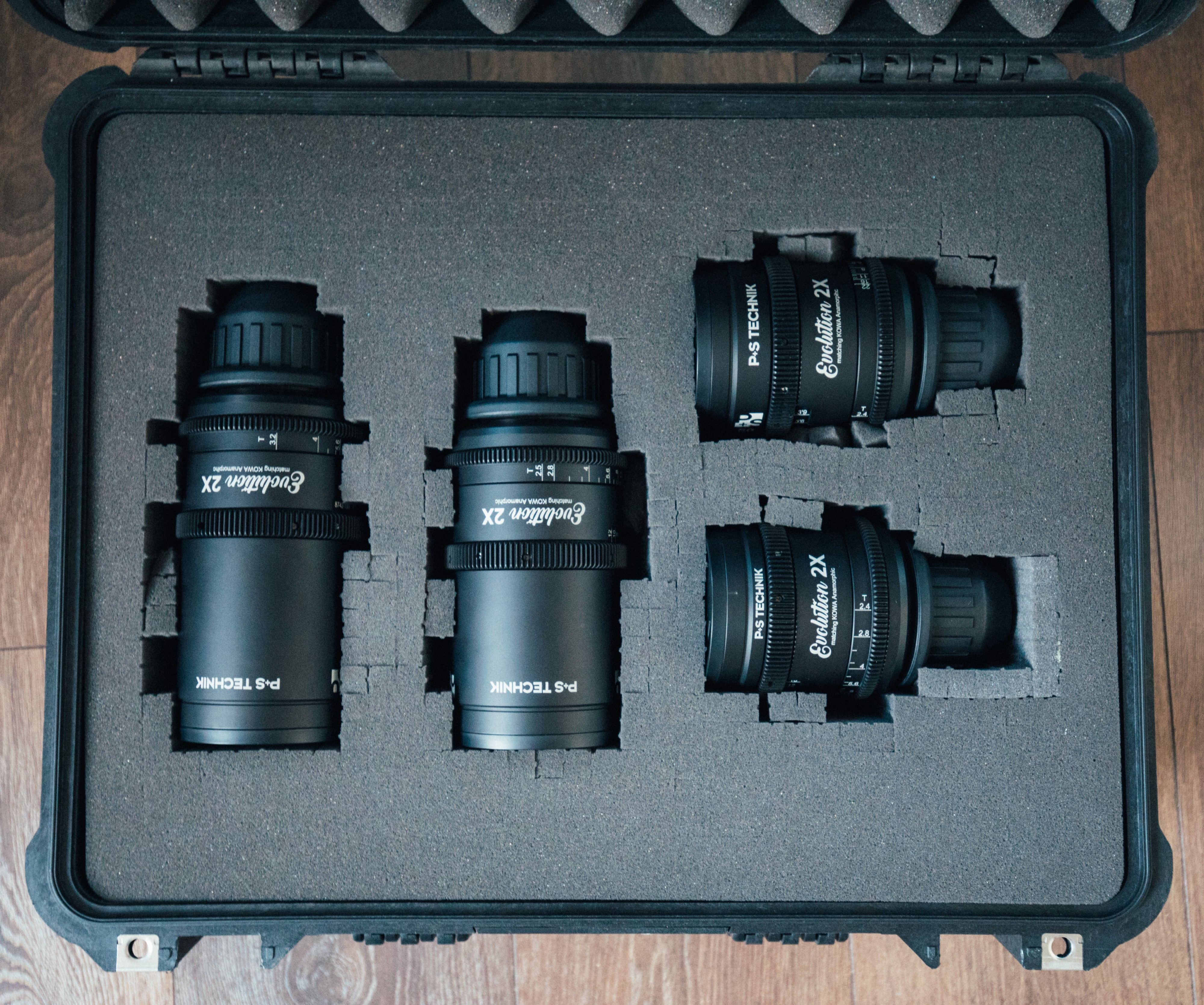 "P+S Technik Kowa ""Evolution"" Anamorphic Lenses — A"