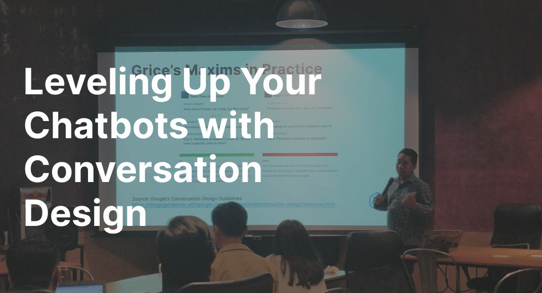 Leveling Up Your Chatbots With Conversation Design By Richard Parayno Ux Collective