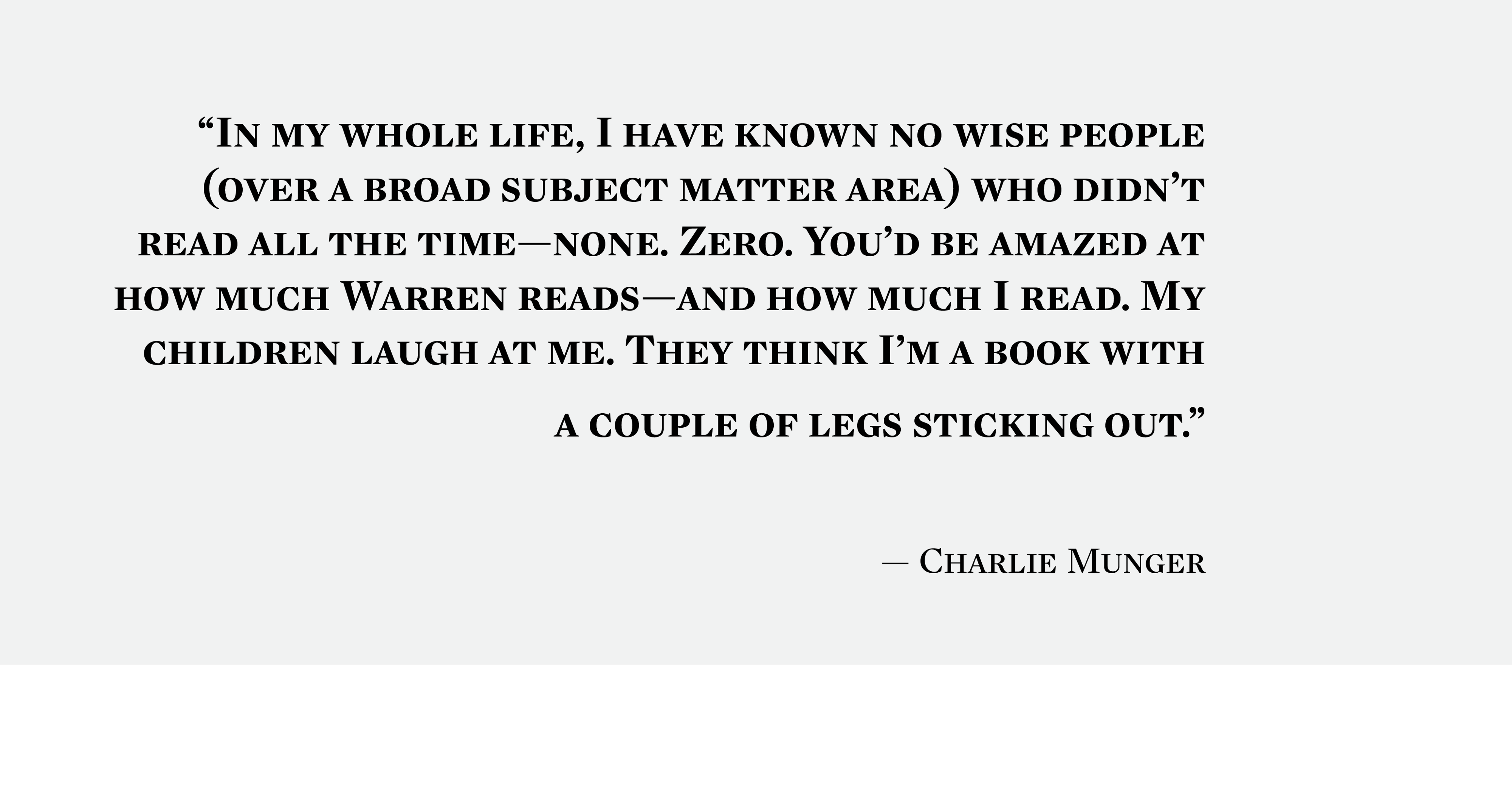39 Book Recommendations From Billionaire Charlie Munger that