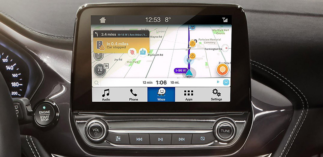 More Waze on your Car's Big Screen with Ford & SmartDeviceLink