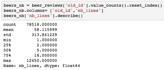 DEEP BEERS: Playing with Deep Recommendation Engines Using Keras