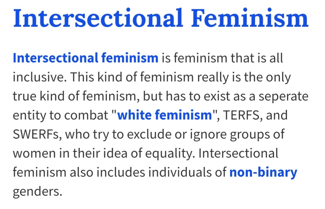 What is Intersectional Feminism with Inclusion