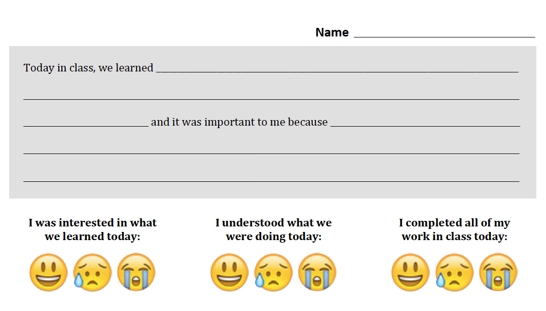picture relating to Printable Exit Tickets named Social Media Exit Tickets - Innovating Schooling - Medium