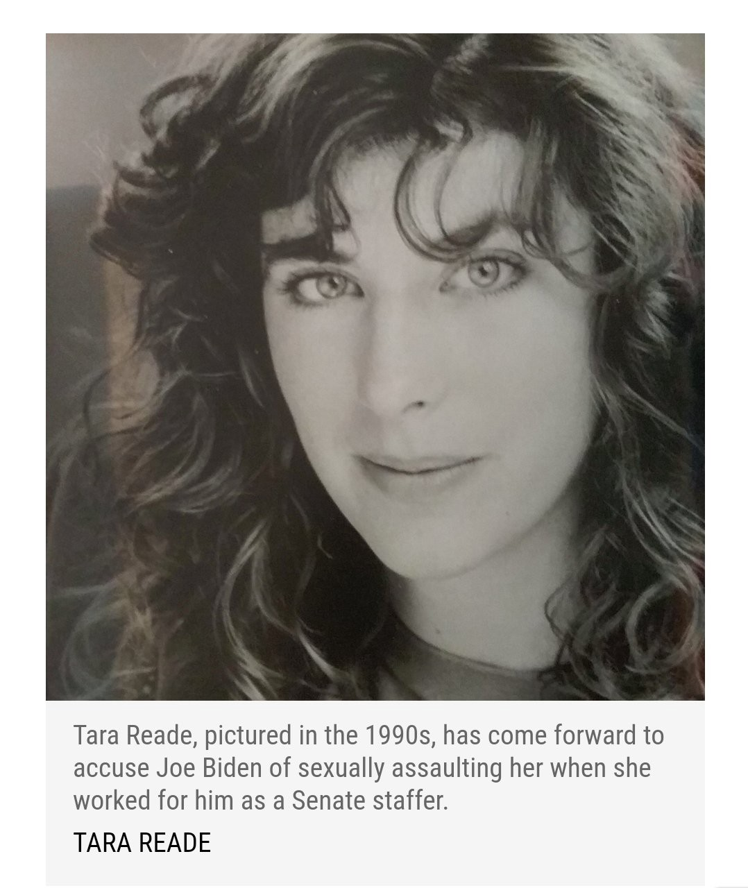 Tara Reade's Story Fits an All too Common Pattern of Sexual ...