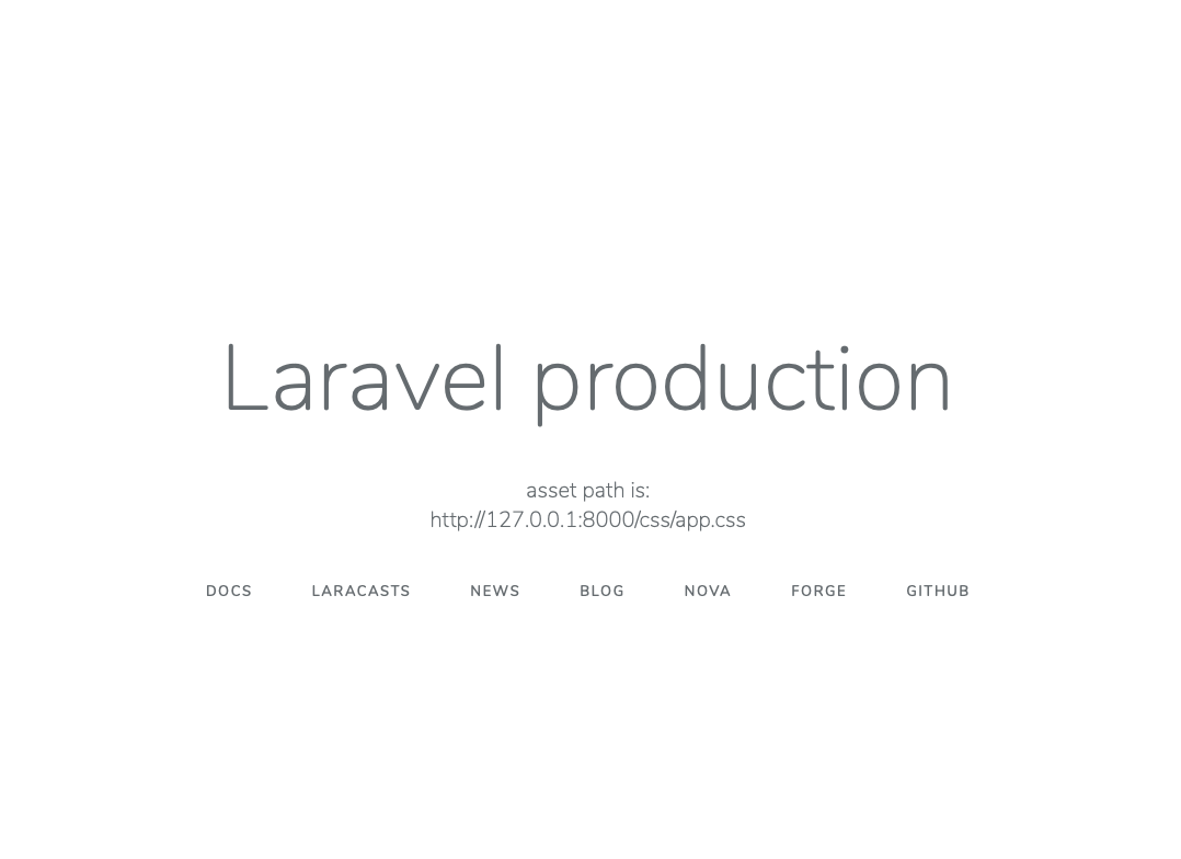 Configure Laravel to work in a SubDirectory and with artisan